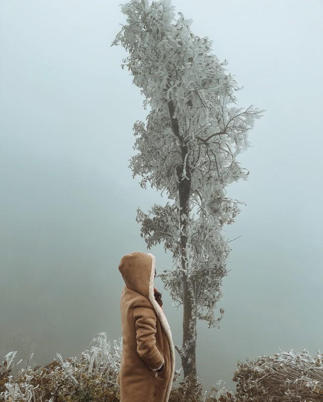 Hãy chuẩn bị các vật dụng cần thiết để giữ ấm cơ thể trước cái lạnh giá rét của nơi đây