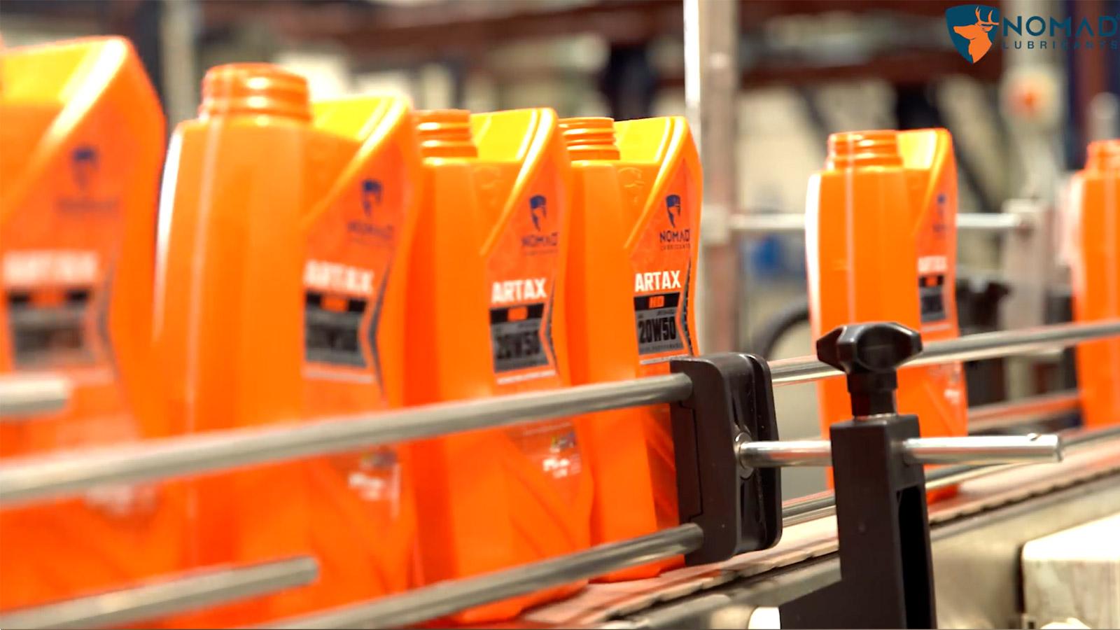 Nhà máy NOMAD LUBRICANTS tại Dubai.